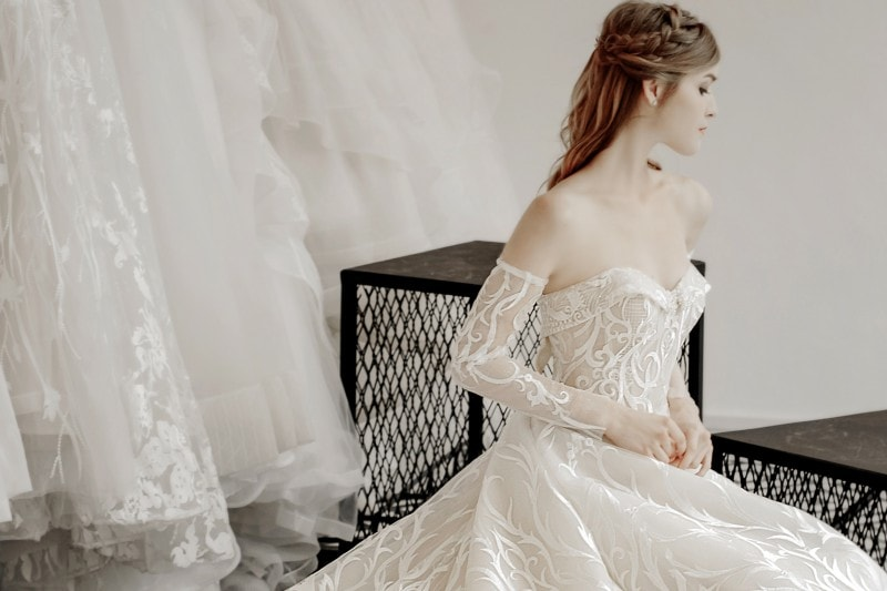 classy wedding gowns singapore