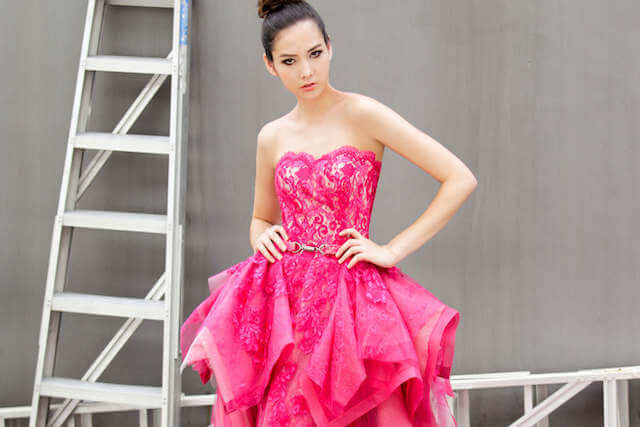 Wedding Gown Rental Singapore, Elegant Evening Gown Singapore